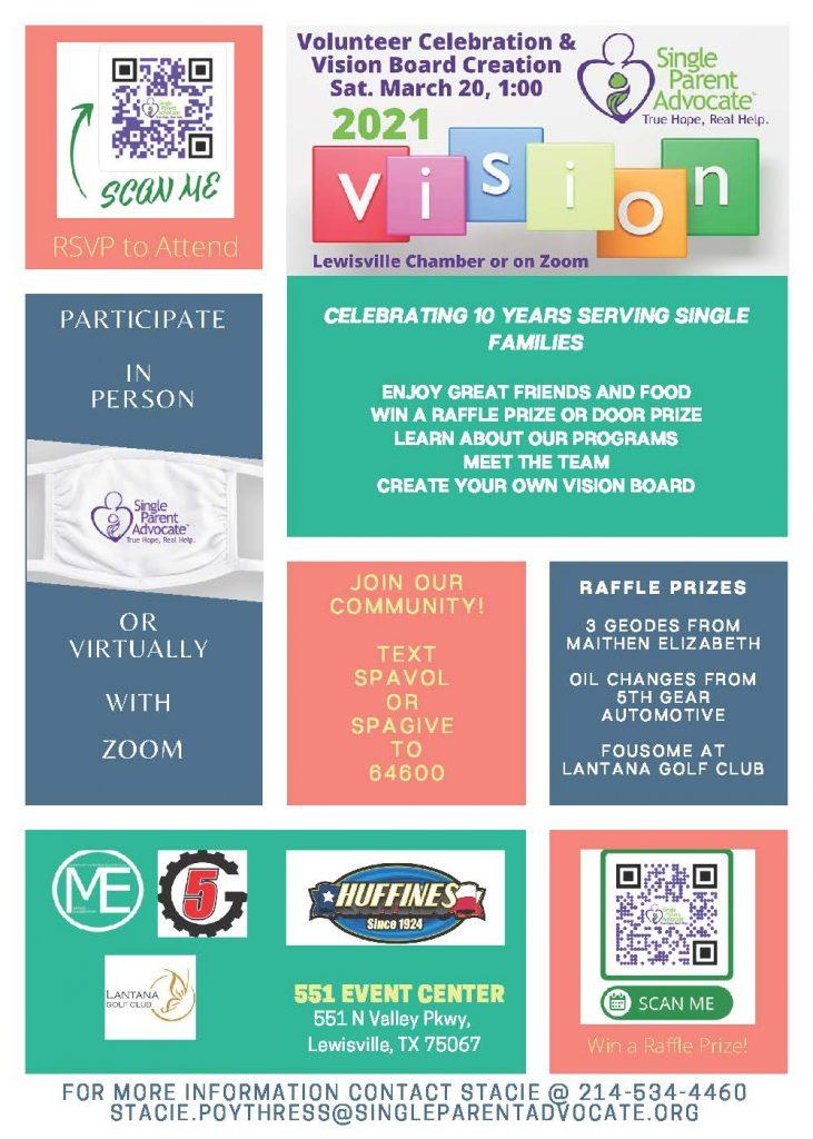 Single Parent Advocate National Single Parent Day Event Flyer